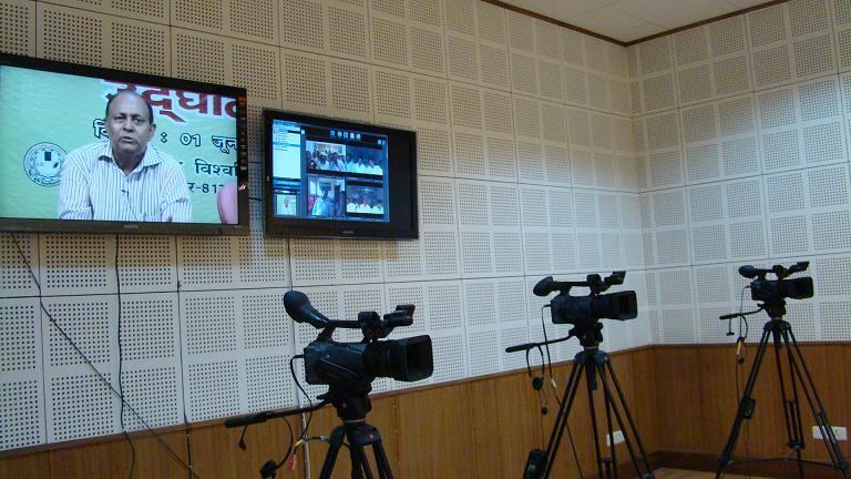 Video shoot studio